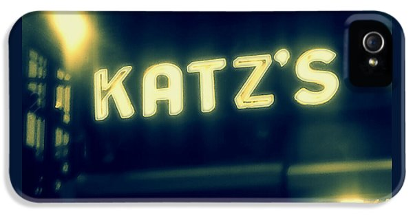 Nyc's Famous Katz's Deli IPhone 5 / 5s Case by Paulo Guimaraes