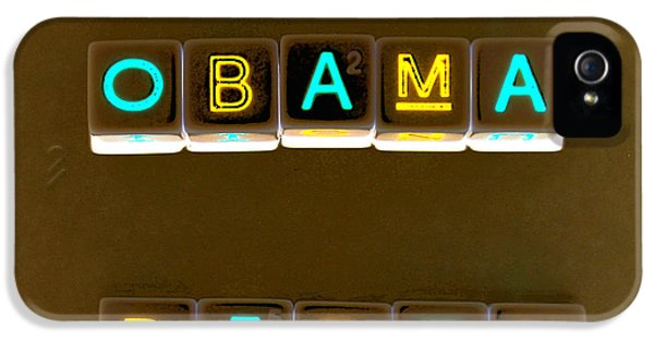 Obama Biden Words. IPhone 5 Case by Oscar Williams