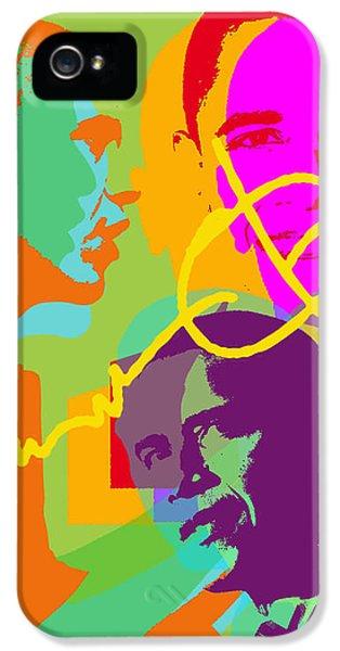 Obama IPhone 5 Case by Jean luc Comperat