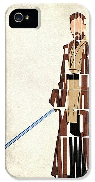 Obi-wan Kenobi - Ewan Mcgregor IPhone 5 Case