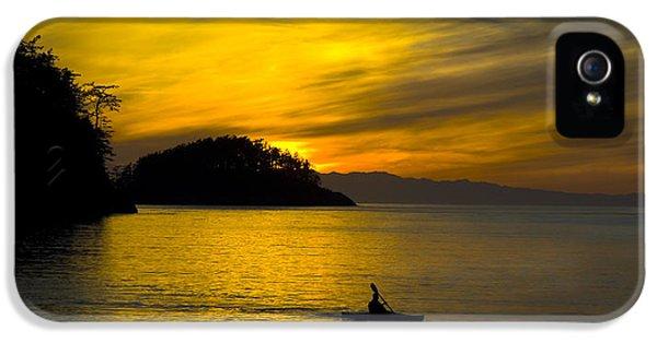 Ocean Sunset At Rosario Strait IPhone 5 Case