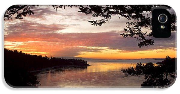 Ocean Sunset Deception Pass IPhone 5 Case