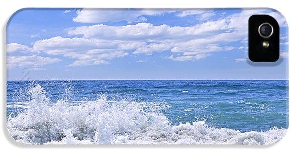 Ocean Surf IPhone 5 Case by Elena Elisseeva