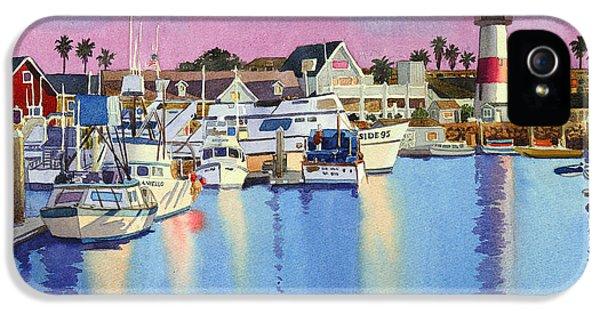 Oceanside Harbor At Dusk IPhone 5 Case