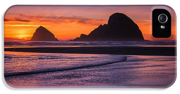Oceanside Sunset IPhone 5 Case by Darren  White