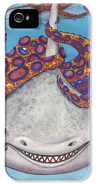 Octopied IPhone 5 Case by Catherine G McElroy