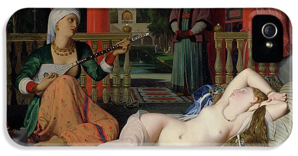 Odalisque With Slave IPhone 5 Case