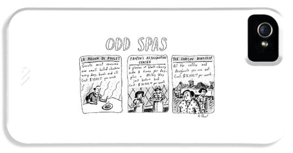 Odd Spas IPhone 5 Case