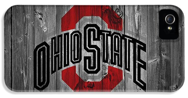 Basketball iPhone 5 Case - Ohio State University by Dan Sproul