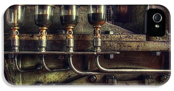 Oil Valves IPhone 5 Case by Carlos Caetano