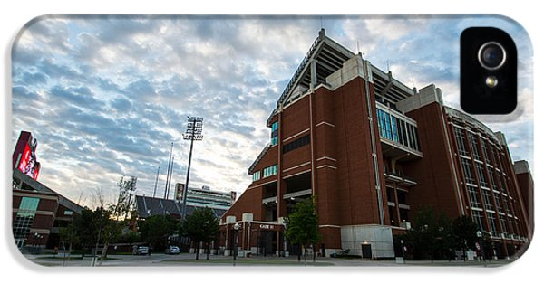 Oklahoma Memorial Stadium IPhone 5 Case by Nathan Hillis