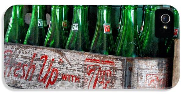 Old 7 Up Bottles IPhone 5 Case