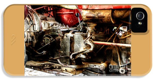 Oliver Tractor iPhone 5 Case - Old But Beautiful by Doc Braham