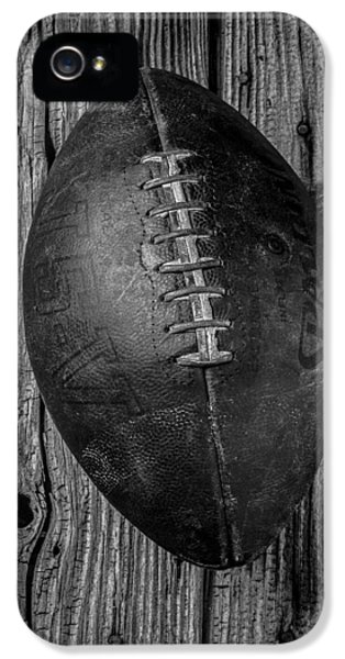 Old Football IPhone 5 Case by Garry Gay