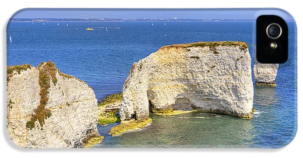 Dorset iPhone 5 Case - Old Harry Rocks - Purbeck by Joana Kruse