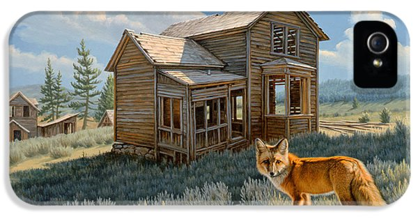 Town iPhone 5 Case - Old Haunts  by Paul Krapf