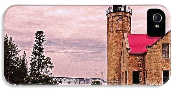 Old Mackinac Point Lighthouse IPhone 5 Case