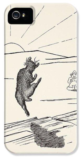 Old Man Kangaroo IPhone 5 Case by Rudyard Kipling