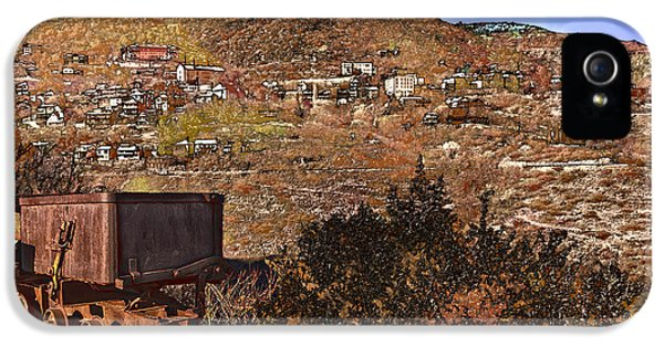 Old Mining Town No.24 IPhone 5 Case by Mark Myhaver