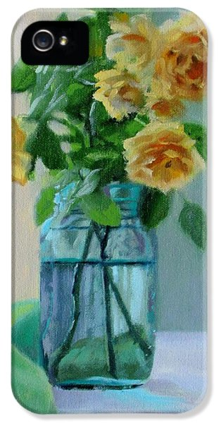 Old Roses IPhone 5 Case by Bonnie Mason