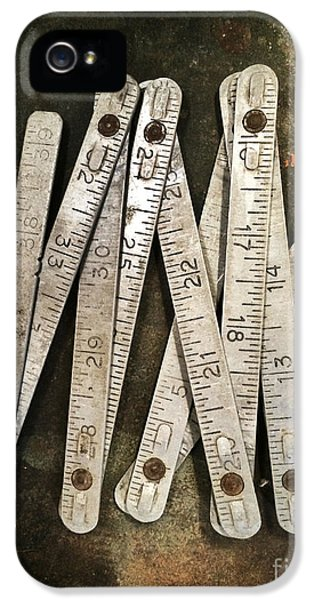 Old Tape-measure IPhone 5 Case by Carlos Caetano