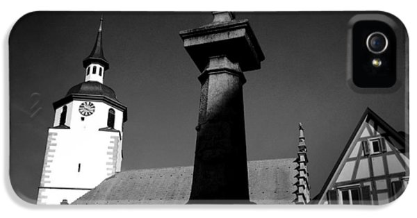 House iPhone 5 Case - Old Town Waldenbuch In Germany by Matthias Hauser