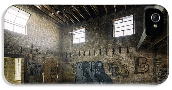 Old Warehouse Interior IPhone 5 Case by Scott Norris