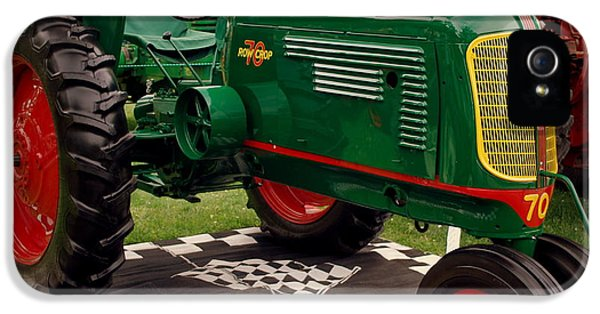Oliver Tractor iPhone 5 Case - Oliver 70 Row Crop by Scott Polley