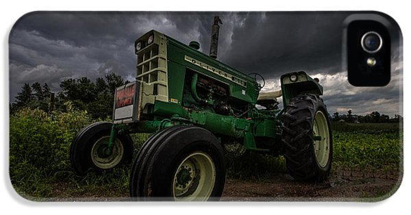 Oliver Tractor iPhone 5 Case - Oliver by Aaron J Groen