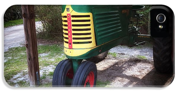 Oliver Tractor iPhone 5 Case - Oliver by John Rizzuto