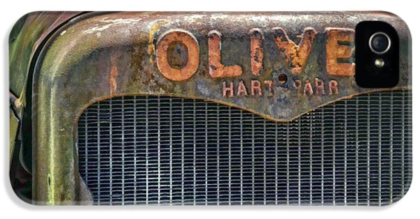 Oliver Tractor iPhone 5 Case - Oliver by Ken Smith