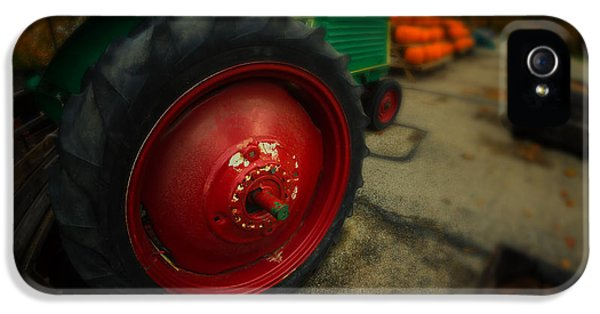 Oliver Tractor iPhone 5 Case - Oliver No 77 by Michael Demagall