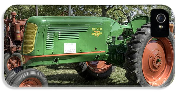 Oliver Tractor iPhone 5 Case - Oliver Row Crop 70 by David Bearden