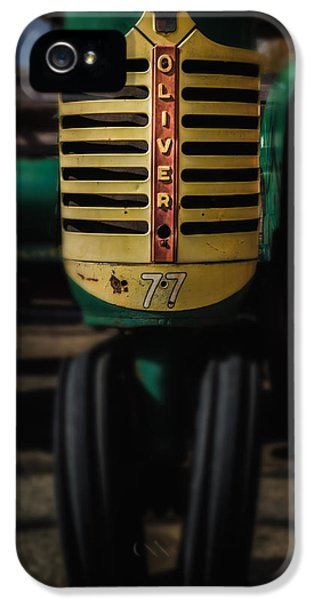 Oliver Tractor iPhone 5 Case - Oliver Row Crop No77 4 by Michael Demagall