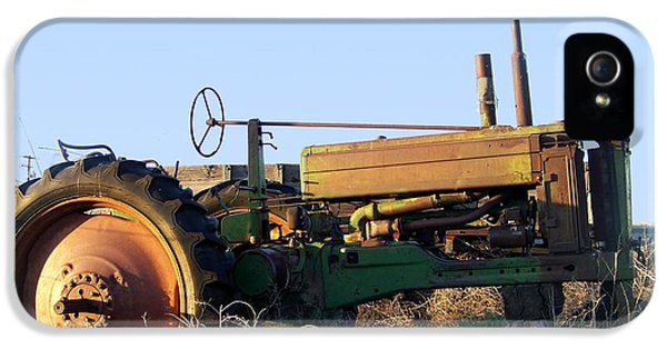 Oliver Tractor iPhone 5 Case - Oliver Tractor by Charles Robinson