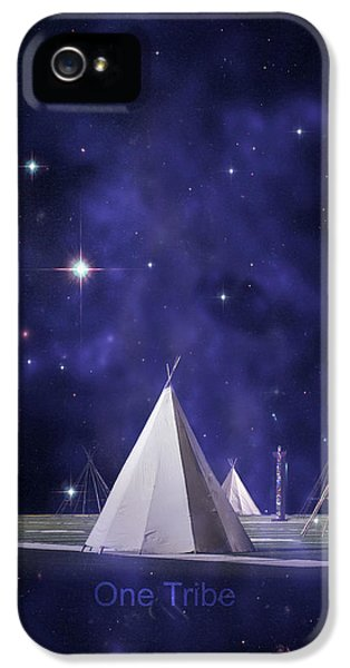 One Tribe IPhone 5 Case by Laura Fasulo