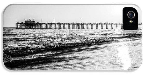 Orange County California Picture Of Balboa Pier  IPhone 5 / 5s Case by Paul Velgos