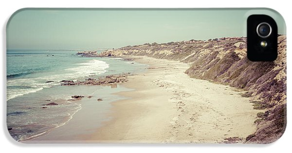Orange County California Retro Photo IPhone 5 Case by Paul Velgos