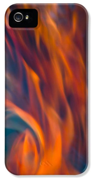 Orange Fire IPhone 5 Case