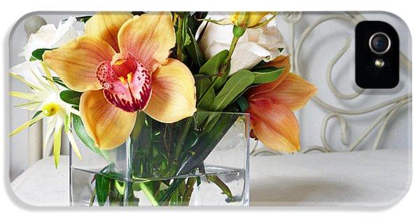 Orchid Bouquet IPhone 5 Case