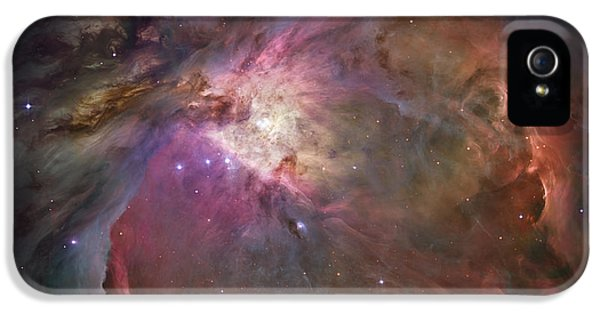 Orion Nebula IPhone 5 Case by Sebastian Musial