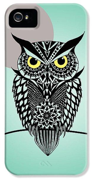 Owl iPhone 5 Case - Owl 5 by Mark Ashkenazi