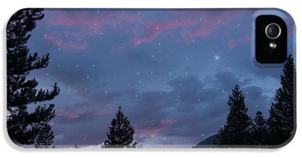 Paint The Sky With Stars IPhone 5 Case by Juli Scalzi