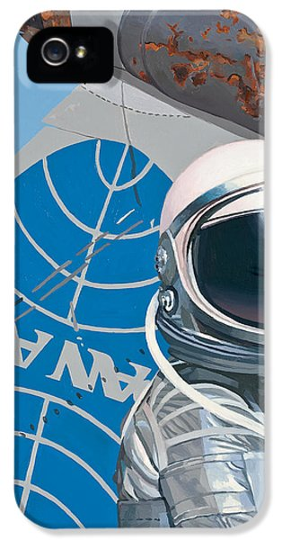 Science Fiction iPhone 5 Case - Pan Am by Scott Listfield