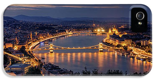 Panorama Of Budapest IPhone 5 Case
