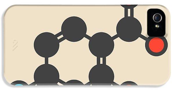 Para-aminosalicylic Acid Drug Molecule IPhone 5 Case by Molekuul