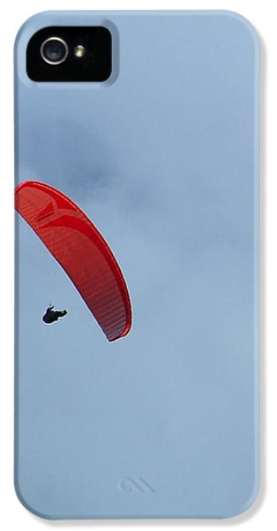 IPhone 5 Case featuring the photograph Parapente by Marc Philippe Joly