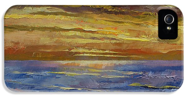 Parfait Sunset IPhone 5 Case by Michael Creese