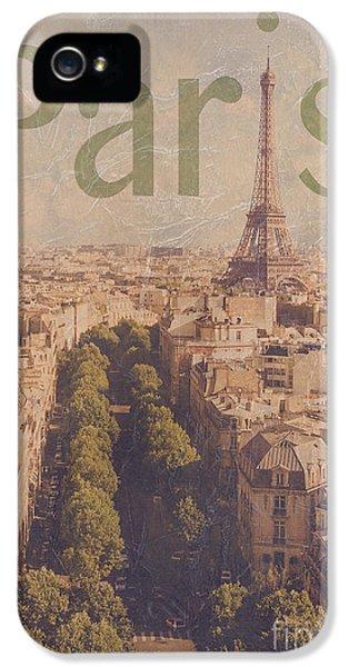 Paris iPhone 5 Case - Paris by Diane Diederich