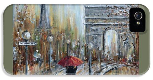 Paris Lovers II IPhone 5 Case by Marilyn Dunlap